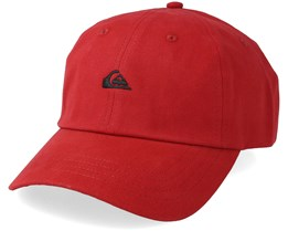 Papa Cap Red Adjustable - Quiksilver