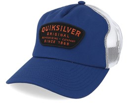 kids Cyliners Navy/White Trucker - Quiksilver