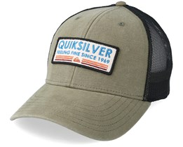 Rig Tender Light Olive/Black Trucker - Quiksilver