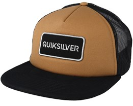 Startles Brown Black Trucker - Quiksilver cbf69bec888