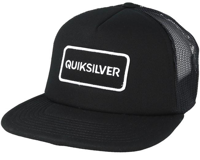 075d5cfd5 Startles Black Trucker - Quiksilver caps - Hatstoreworld.com