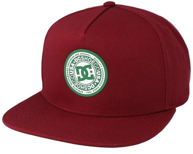 171c87c7fd6 Reyknotts Maroon/Green/White Snapback - DC keps - Hatstore.se