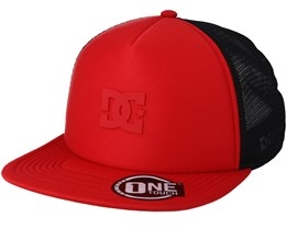 Greet Up Red/Black Trucker - DC