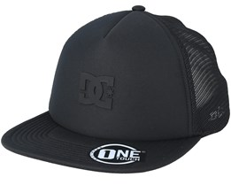 Greet Up Black/Black Trucker - DC