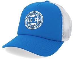 Vested Up Blue/White Trucker - DC