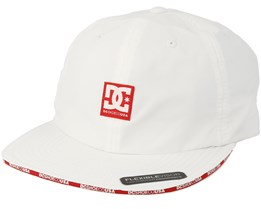 Sandwich White/Red Strapback - DC