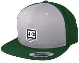 Snapdragger Grey/Green Snapback - DC