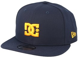 Empire Fielder NE 9Fifty Navy/Orange Snapback - DC