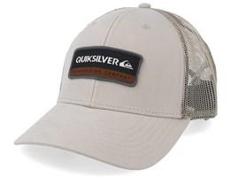 Rinsed Khaki/Khaki Trucker - Quiksilver
