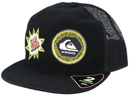 Kids Swagbatter Patch Black Trucker - Quiksilver