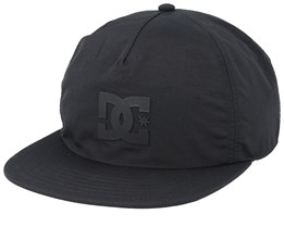 Floored Black Snapback - DC