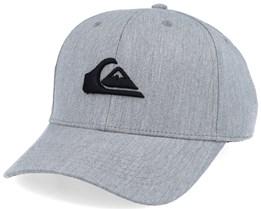 Decades Light Heather Grey/Black Adjustable - Quiksilver