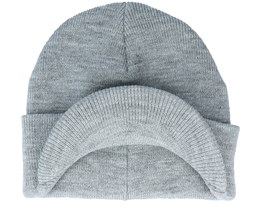 Kids Marquee Youth Brim Beanie Frost Gray Cuff - DC
