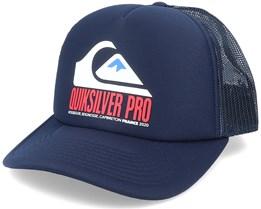 Quik Pro Fr Navy Blazer Trucker - Quiksilver