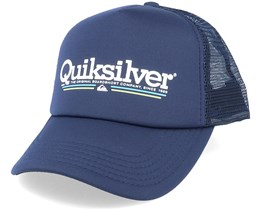 Filtration Parisian Blue Trucker - Quiksilver