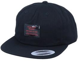 Full Service Black Strapback - DC