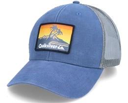 Clean Meanie India Ink/Grey Trucker - Quiksilver