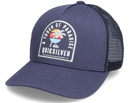 Proverbs Sprt Navy Blazer/Black Trucker - Quiksilver