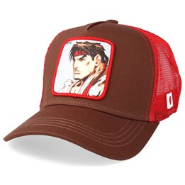 online store 0b645 3a799 Capslab Street Fighter Ryu Brown Red Trucker - Capslab  29.99. NEW. Capslab  Disney Snow White ...