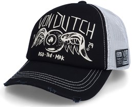 Flying Eye Black/Stone Trucker - Von Dutch