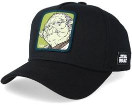 Star Wars Yoda Black/Green Adjustable - Capslab