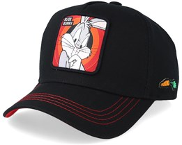 Looney Tunes  Bugs Bunny Black/Red Adjustable - Capslab