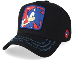 Sonic The Hedgehog Sonic Black/Blue/Red Adjustable - Capslab