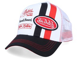 Motors Kenneth Howard Kustom Kutture White/Black Trucker - Von Dutch