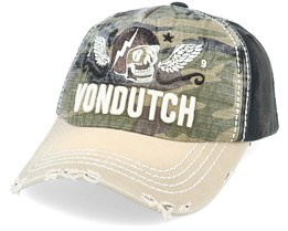 Xavier Camo/Khaki/Black Adjustable - Von Dutch