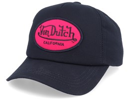 Oval Patch Black/Bordeaux Adjustable - Von Dutch