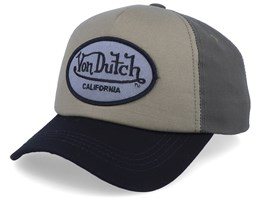 Oval Patch Canvas/Olive/Black Adjustable  - Von Dutch