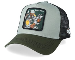 Star Wars Boba Fett Green/Black Trucker - Capslab
