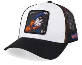 Dragon Ball Goten White/Black Trucker - Capslab