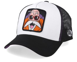 Dragon Ball Kame White/Black Trucker - Capslab