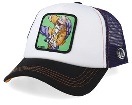 Dragon Ball Kame White/Purple/Black Trucker - Capslab