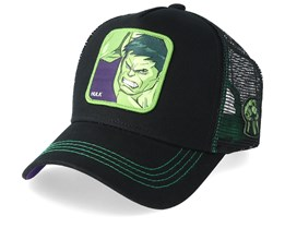Marvel Hulk Black/Green Trucker - Capslab