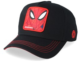 Spider-Man Black/Red Adjustable - Capslab