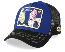 Dragon Ball Minute Of Desperation Vegeta VS Kid Buu Blue/Black/Yellow Trucker - Capslab