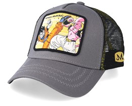 Dragon Ball Gohan VS Majin Buu Charcoal/Black Trucker - Capslab