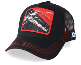 Star Wars X-Wing Black/Red Trucker - Capslab