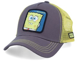 Pokemon Spngebob Charcoal/Yellow Trucker - Capslab