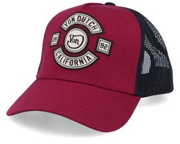 California Bordeaux/Black Trucker - Von Dutch