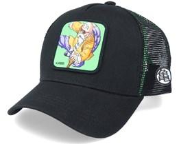 Dragon Ball Z Mbt Kame Sennin Black/Green Trucker - Capslab