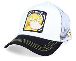Pokemon Psyduck White/Black/White Trucker - Capslab