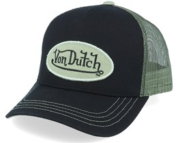 Oval Patch Black/Army Trucker - Von Dutch