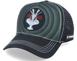 Looney Tunes Bugs Bunny Black/Black Trucker - Capslab