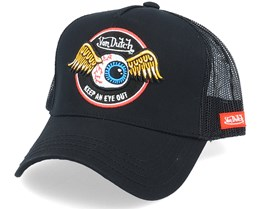 Flying Eye Black Trucker - Von Dutch