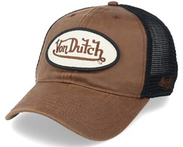 Pete Unstructured Brown/Black Trucker - Von Dutch
