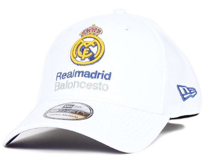 18b7e7fd441 Real Madrid Euro League White 39Thirty - New Era caps
