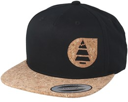 Narrow Black Snapback - Picture